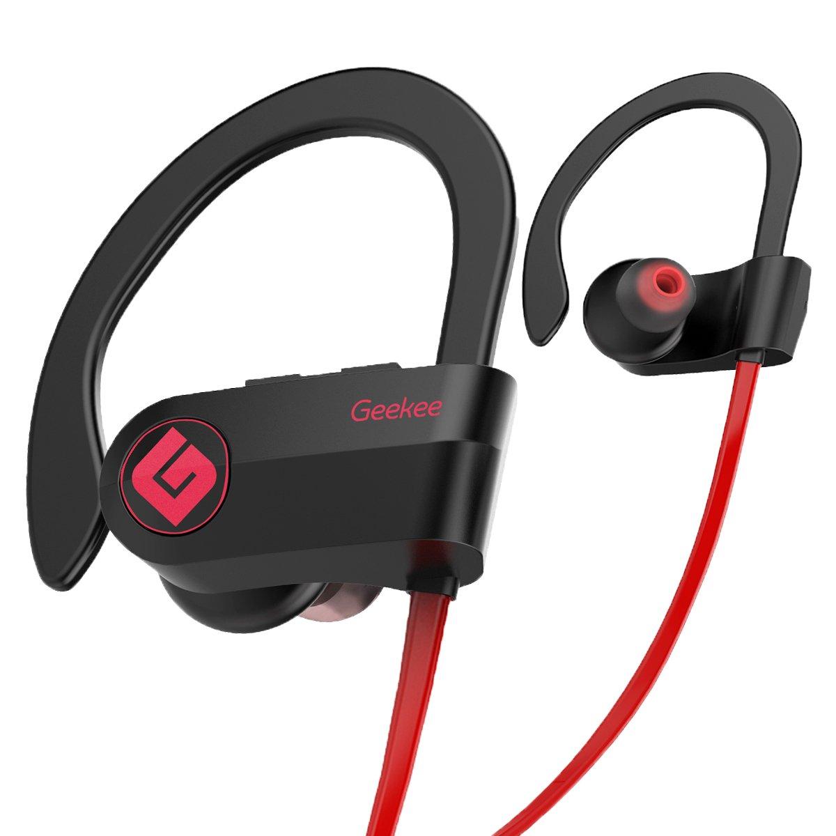6aa116975ff Wireless Bluetooth Headphones Waterproof IPX7, Best Sport In Ear Earbuds  Earphones w/Remote and