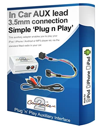 Ford Ka Aux Ipod Iphone Mp Player Ford Ipod Iphone Aux In Adapter Interface
