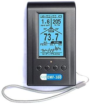Advanced GQ EMF-380 - Detector de radiación electromagnética 2 en 1, medidor EMF y analizador de espectro RF: Amazon.es: Bricolaje y herramientas