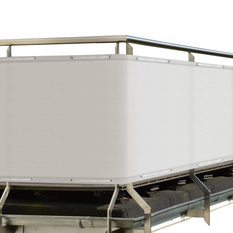 Sol Royal Frangivista e telo frangivento per balconi SolVision PB2 90x300 cm impermeabile - con occhielli - antracite
