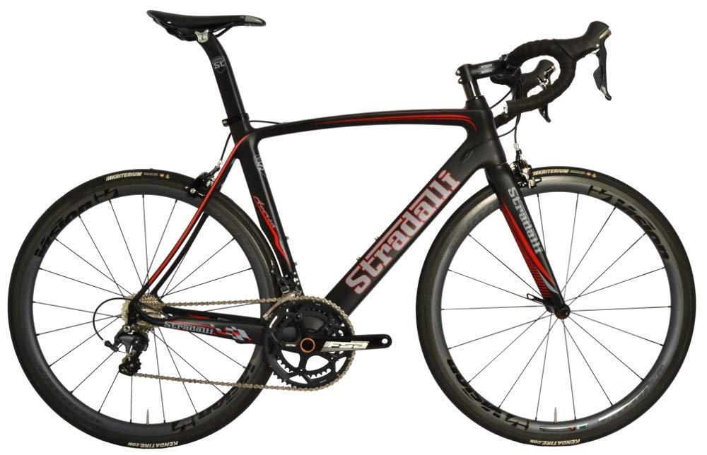 02c6e599345 Amazon.com : Stradalli Aversa Full Carbon Aero Road Bicycle Shimano Ultegra  8000 11 Speed. Vision Metron 40 Carbon Clincher Wheelset. : Sports &  Outdoors