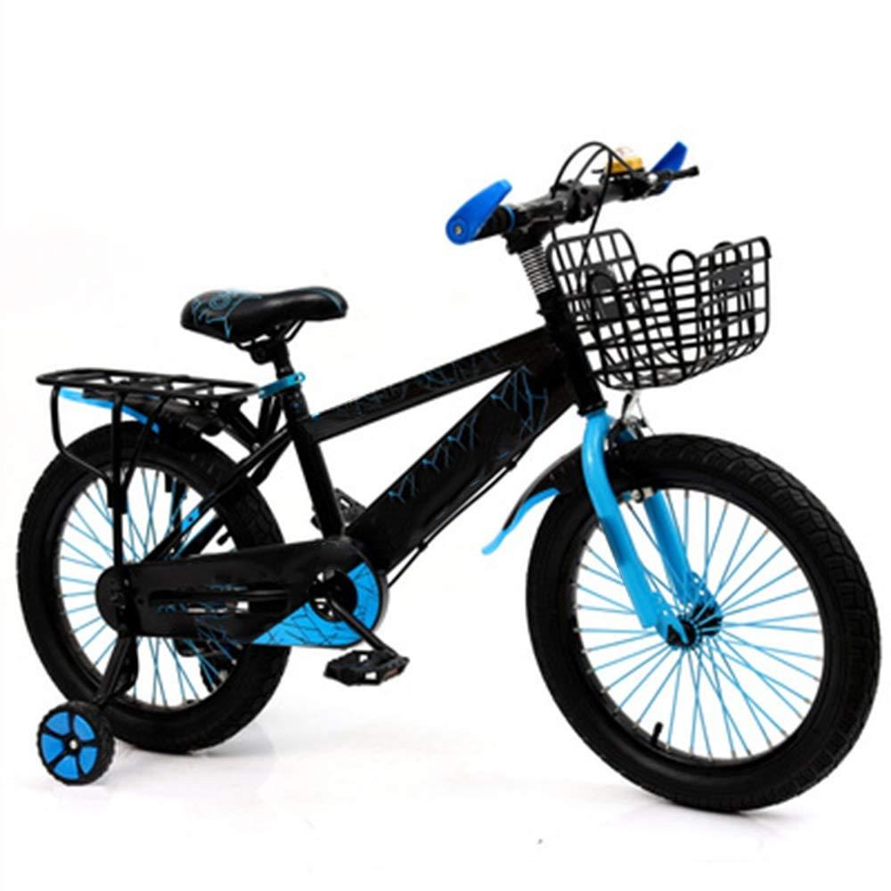 大人の上質  Axdwfd 子ども用自転車 キッズバイク子供用自転車12/14/16/18インチの男の子と女の子のサイクリング 12in、お子様用(29歳 Axdwfd、イエローレッドブルー) B07PT961VG 12in 青 B07PT961VG, 安眠ふとんのこだま:63efff11 --- senas.4x4.lt