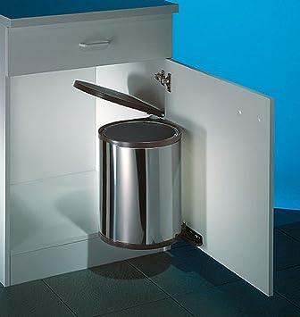 wesco 010214-42 abfallsammler, metall, 36.9 x 29.8 cm: amazon.de ... - Küche Abfallsammler