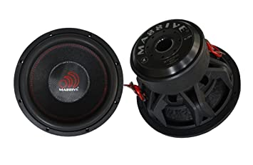 Massive Audio Summoxl154 15 Inch Car Audio 3000 Watt
