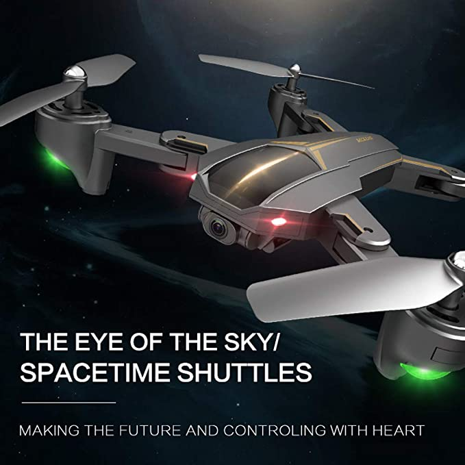 Darringls drone XS812 GPS FPV,2.4G 4CH Cuadricóptero con Altitud ...