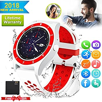 Bluetooth Smart Watch For Android Phones,2018 Smartwatch Android Phone Watch, Waterproof Smart Watches Touchscreen With Camera Compatible Android Samsung ...