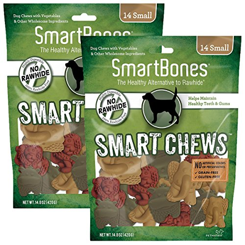 SmartChews Safari Chews for Dogs, Small, 14 pieces pack