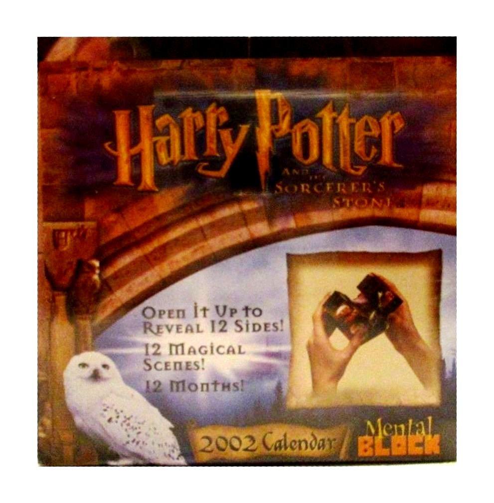 Download Harry Potter Movie Mental Block 2002 Calendar pdf epub