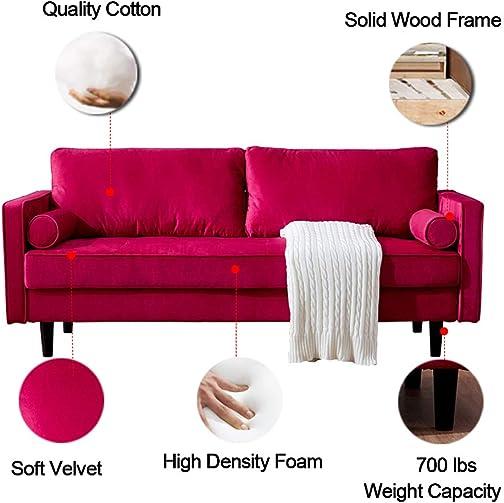 Modern Velvet Sofa Couch