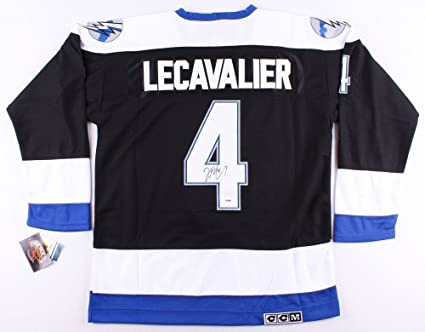 reputable site 68dc7 9cce6 Vincent Lecavalier Autographed Signed Tampa Bay Lightning ...