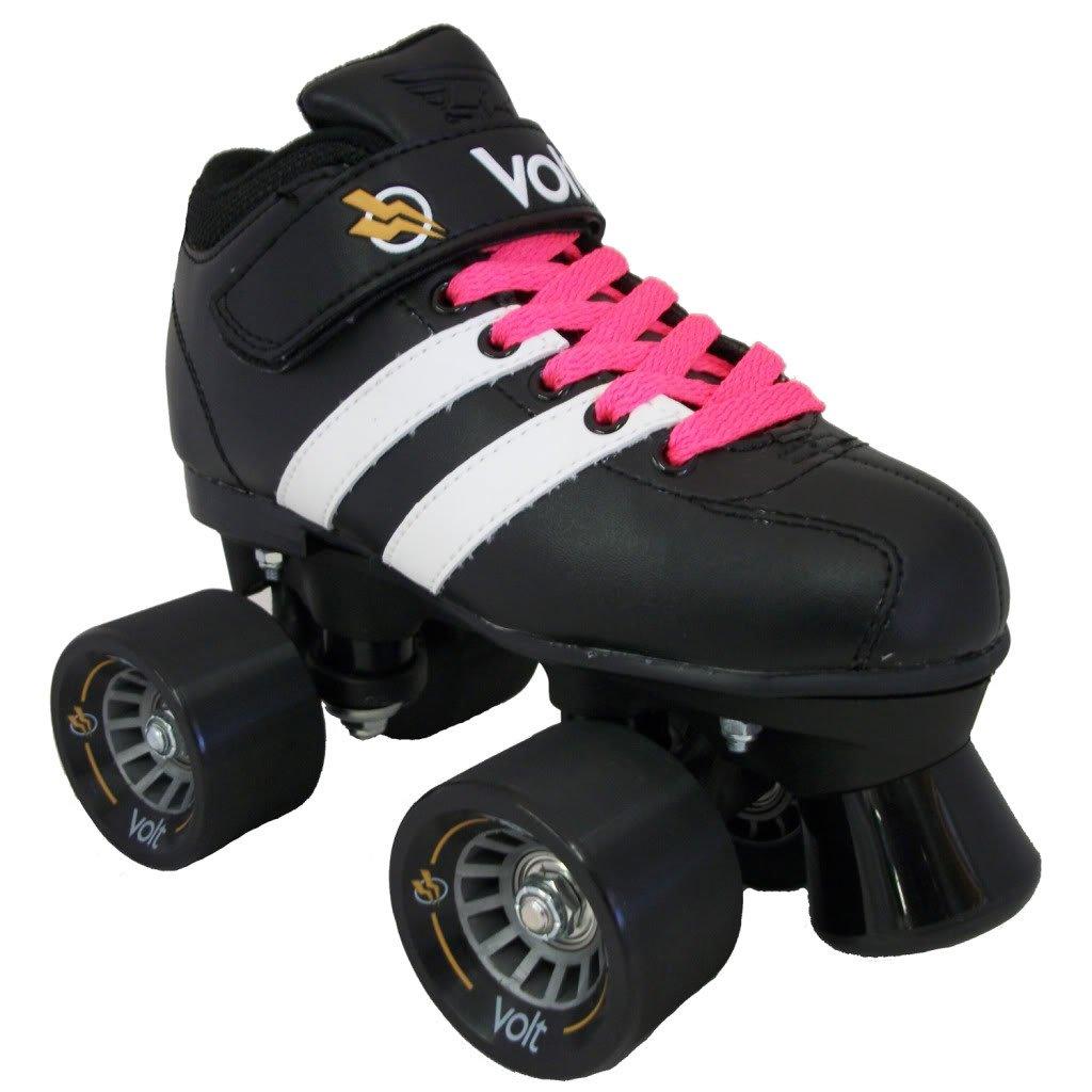 Riedell Volt Pink Skates - Riedell Volt Speed Skates - Volt Pink Skate
