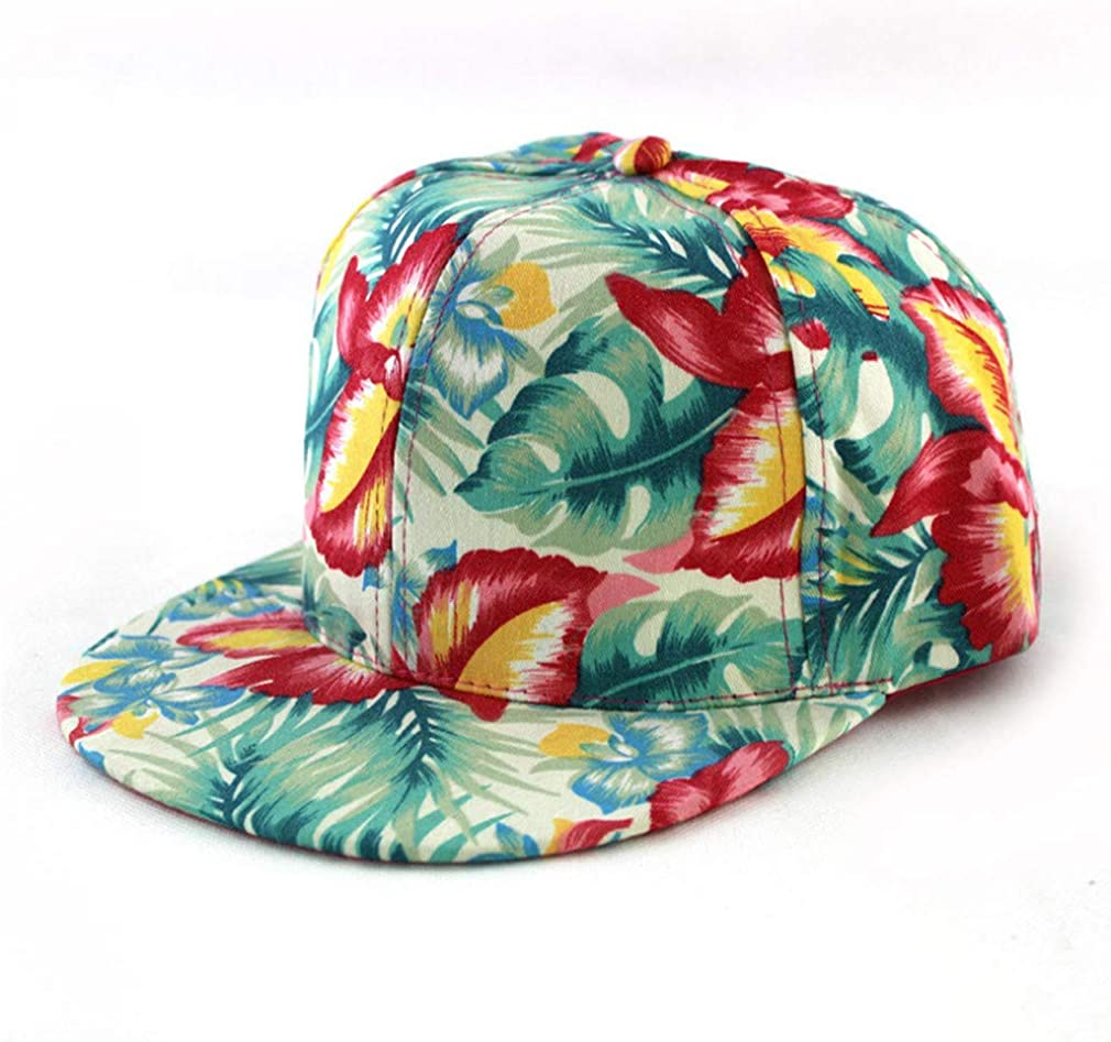 Floral Beach Womens Baseball Snapback Hats Casual Holiday Bone Cap Females Hip Hop Hat Baseball
