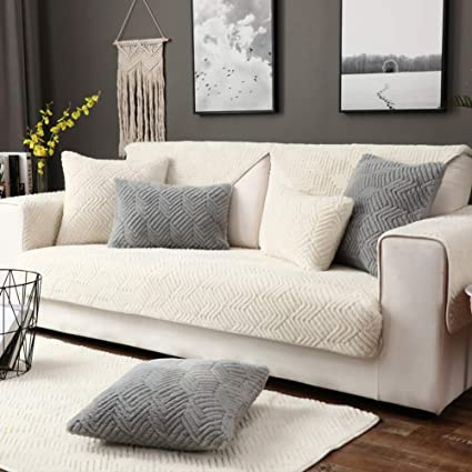 Amazon Com Thicken Plush Sofa Cover Living Room Sofa Sets