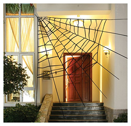 Large Corner Spider Web Decoration, 60""