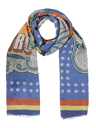 detailed look cd46c 0a181 Etro Foulard Uomo 1H0204150200 Modal Multicolor: Amazon.it ...