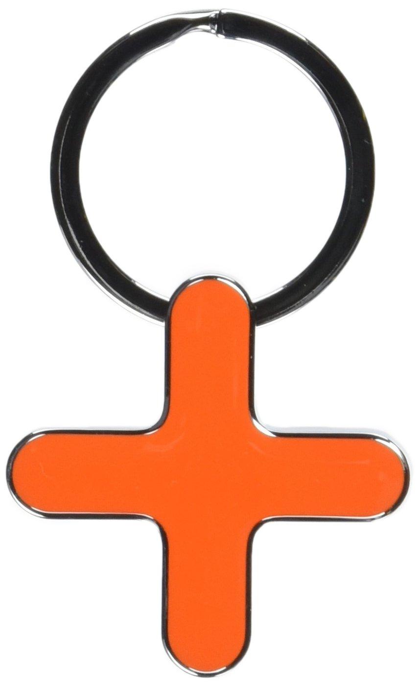 TROIKA (トロイカ) キーリング、ヌード、オレンジ KARIM RASHIDデザインキーホルダー RK001/OR NODE B005550E9M