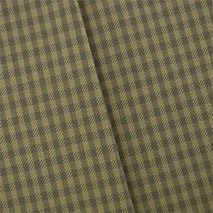 Amazon Sand Beige Gray Gingham Twill Home Decorating Fabric