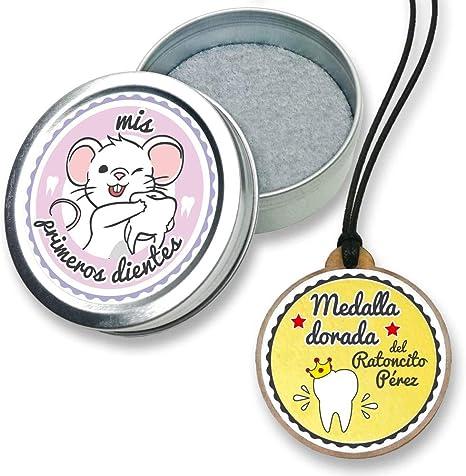 FANS & Friends Caja para dientes de leche con medalla para niñas y ...