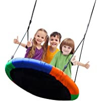 Blue island Tree Swing Children's Outdoor Large Size