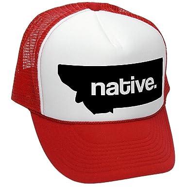 Montana nativo - Estado orgullo - Balón de fútbol adulto gorro de ...