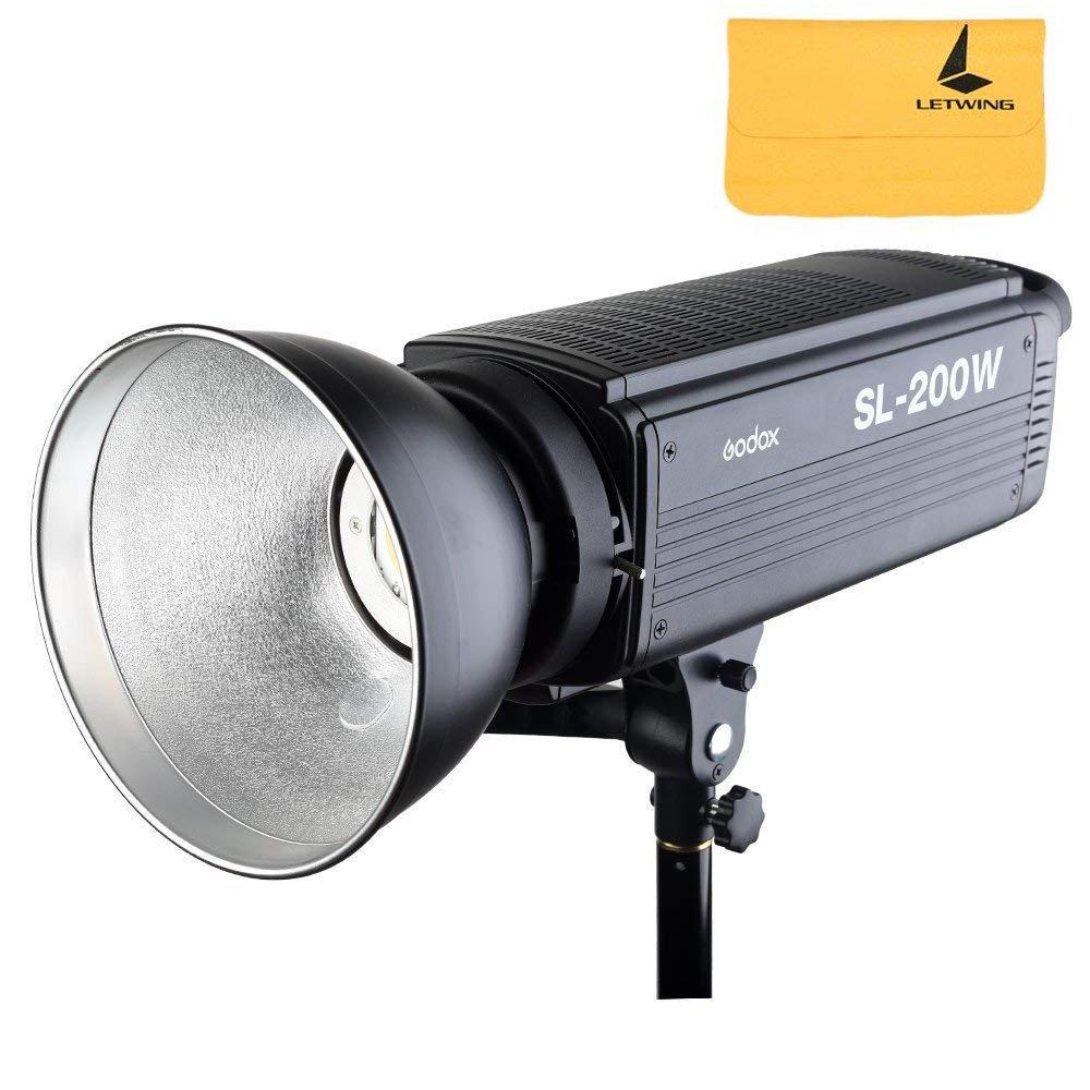 GODOX SL-200W 200Ws 5600K LED Video Light Studio Continuous Lamp for Camera DV Camcorder (SL200W)