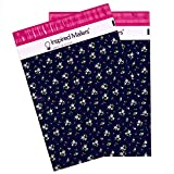 Inspired Mailers Poly Mailers 10x13 Petite Floral – Pack of 100 – Unpadded Shipping Bags
