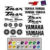PEGATINA ADHESIVO YAMAHA TMAX VINILO TROQUELADO ALTA CALIDAD 19 unidades ( disponible en 16 colores ) MOD.1