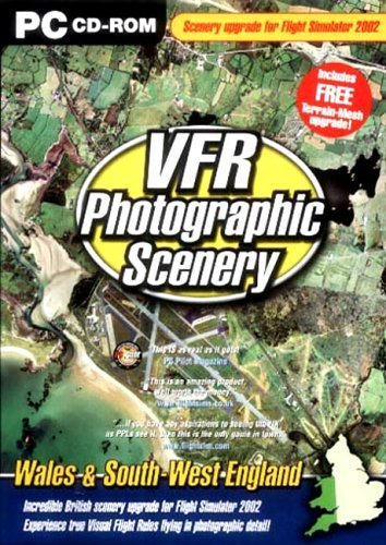 VFR 3 Photographic Scenery - Wales and South West England ...