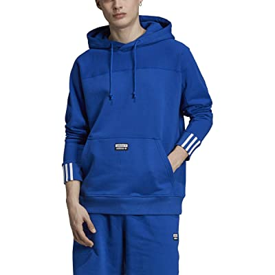 adidas Mens R.Y.V. BLKD H. Royal Hoodie - FK3237 at Amazon Men's Clothing store