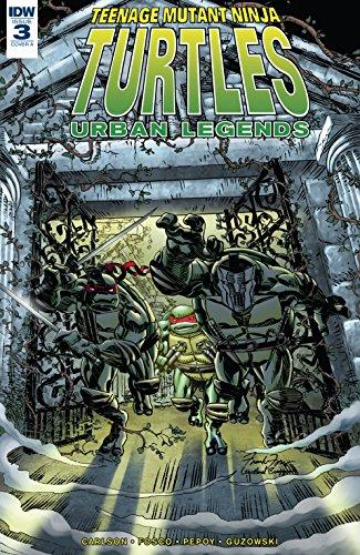 Amazon.com: Teenage Mutant Ninja Turtles: Urban Legends #3 ...
