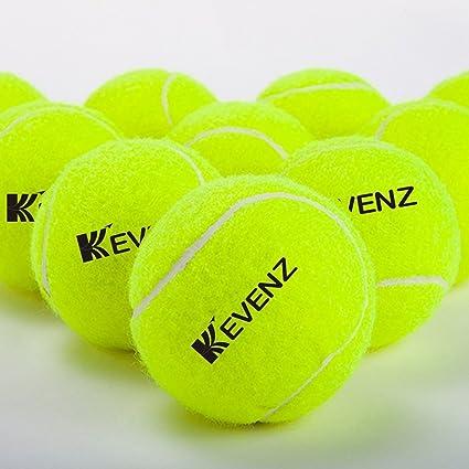 KEVENZ Pelotas de Tenis Alta Calidad Pressure-Less (24 o 48-Pack)