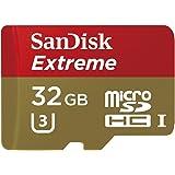SanDisk(サンディスク) microSDHCカード Extreme U3 4K対応 400X 60MB/s 32GB 海外パッケージ品 SDSDQXN-032G-G46A