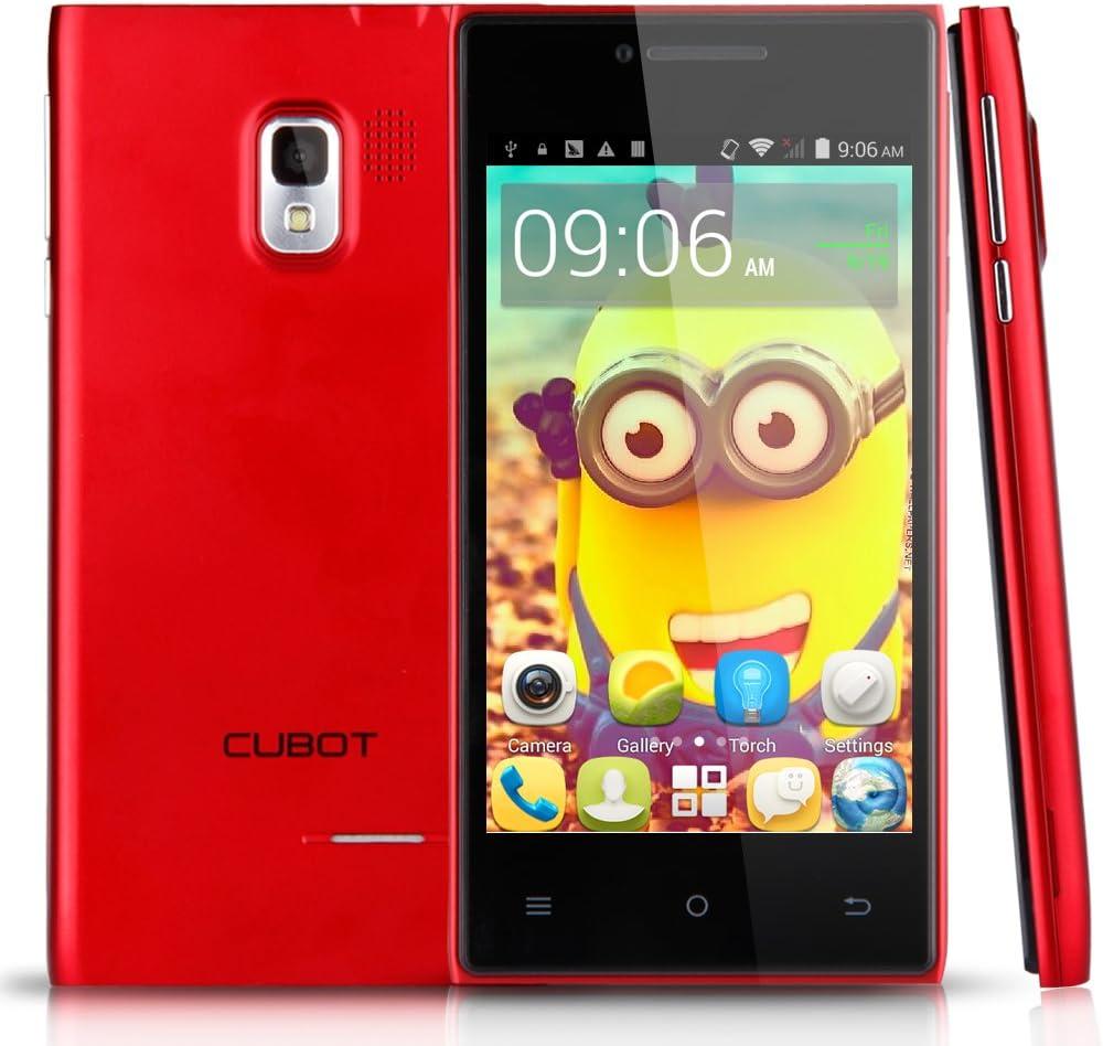 CUBOT GT72+ Telefono Movil 3G Libre Smartphone Con Pantalla de 4 ...