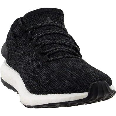 best service a2b4b 4226d adidas Running Men s Pureboost Black DGH Solid Grey DGH Solid Grey 12.5 ...