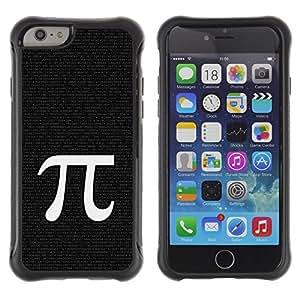 iKiki Tech / Estuche rígido - Pi Mathematics Symbol Ancient Greece Letter - Apple iPhone 6 PLUS 5.5