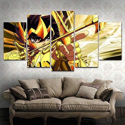 JYSHC Caballeros del Zod/íaco Lienzo P/óster Cuadro De Arte De Pared Decoraci/ón De Dormitorio Familiar Moderno Sv1238Mk 40X60Cm Sin Marco