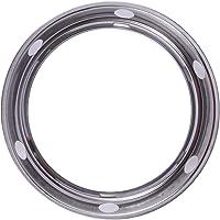 BESTONZON 24CM Magnetic Kitchen Pot Rack Stainless Steel Wok Rack Rustproof 0.4MM Thickness