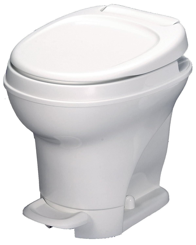Aqua-Magic V RV Toilet Pedal Flush / High Profile / White - Thetford 31671