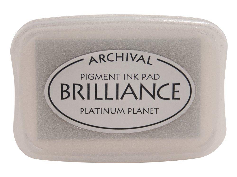 Tsukineko Brilliance Full-Size Pad, Platinum Planet
