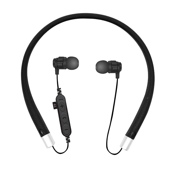Auriculares Bluetooth para Colgar en el Cuello, Tarjeta de ...