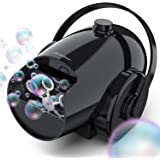 Hicober Automatic Bubble Machine for Kids, Portable Professional Bubble Machine for Parties, Bubble Blower Battery Operated P