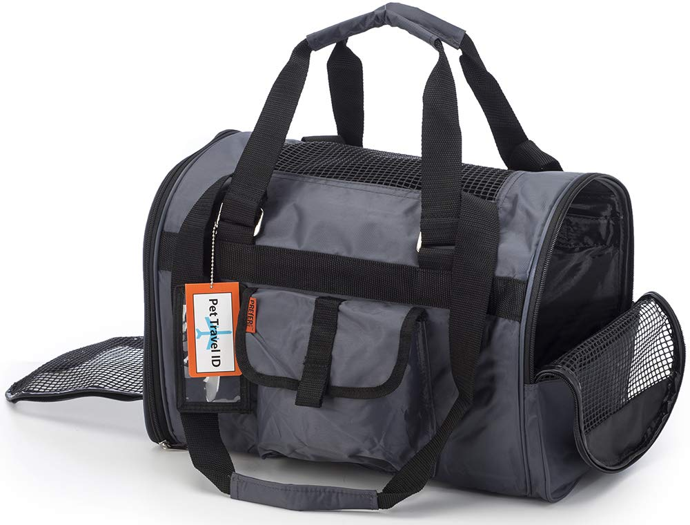 Prefer Pets 566 Jet Carrier for Pets (Shade) - Airline Approved, Perfect for Small Animals, Dogs and Cats