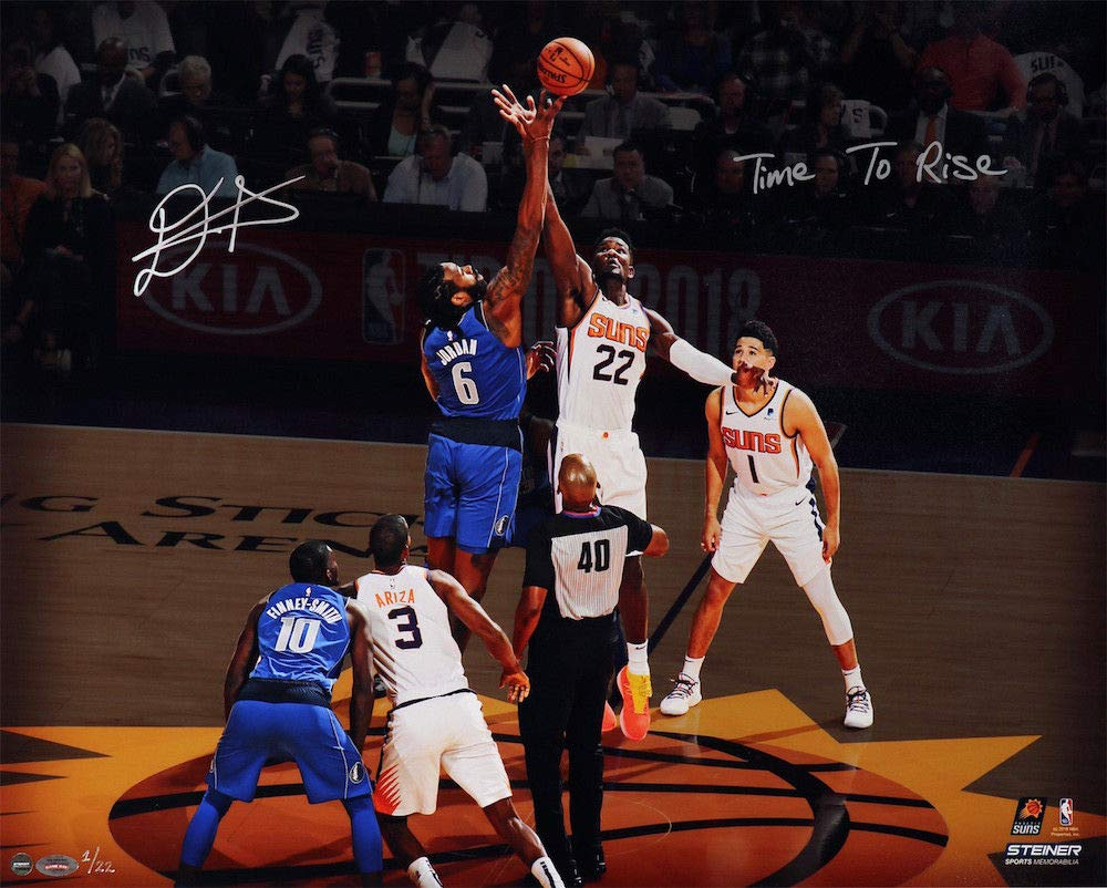 ca9bff27614f Amazon.com  DEANDRE AYTON Autographed and Inscribed Phoenix Suns