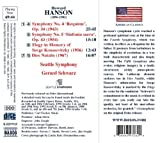 Hanson: Symphony No. 4 Requiem / Symphony No. 5 Sinfonia Sacra / Elegy / Dies Natalis