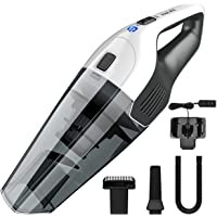 HOLIFE Handheld Vacuum Cordless, Car Vacuum Cleaner 4KPA Lightweight Hand Vac with 2200mAh Rechargeable with HEPA Filter Vacuum