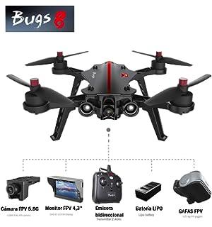 Tanli MJX Bugs 8 Pro Drone Angulo / Acro 3D Flips Carreras de Alta ...