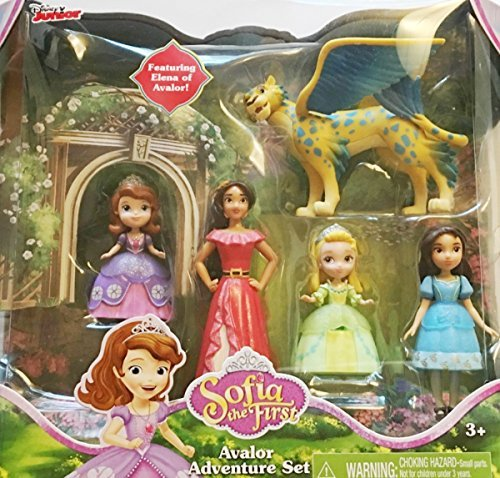 Just Play Sofia the First Avalor Adventure Set (Elena Of Avalor And Sofia The First)