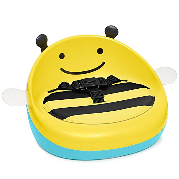 Amazon.com : Skip Hop Portable Toddler Booster Seat, Bee : Baby