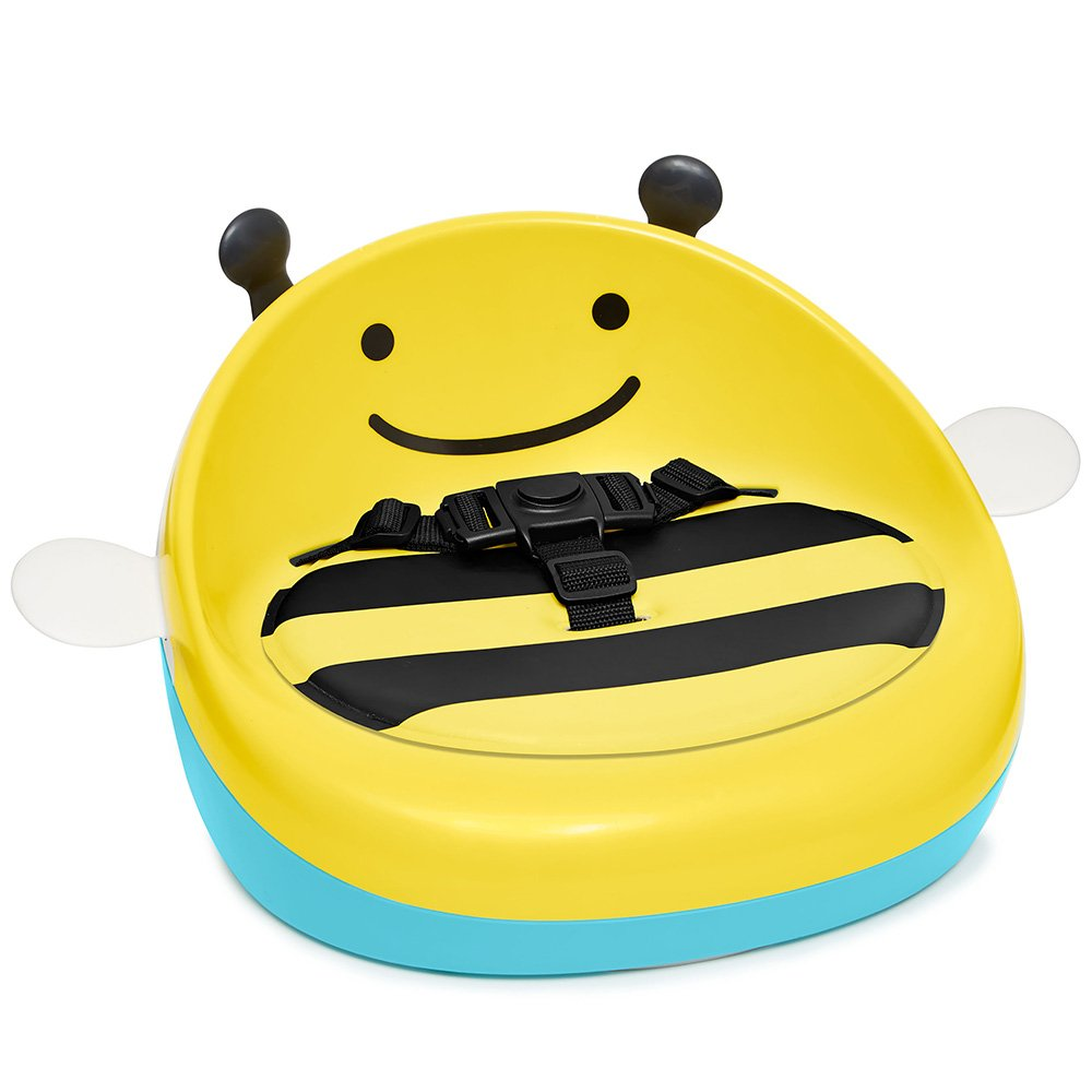 Skip Hop Zoo Booster Seat, Yellow Bee