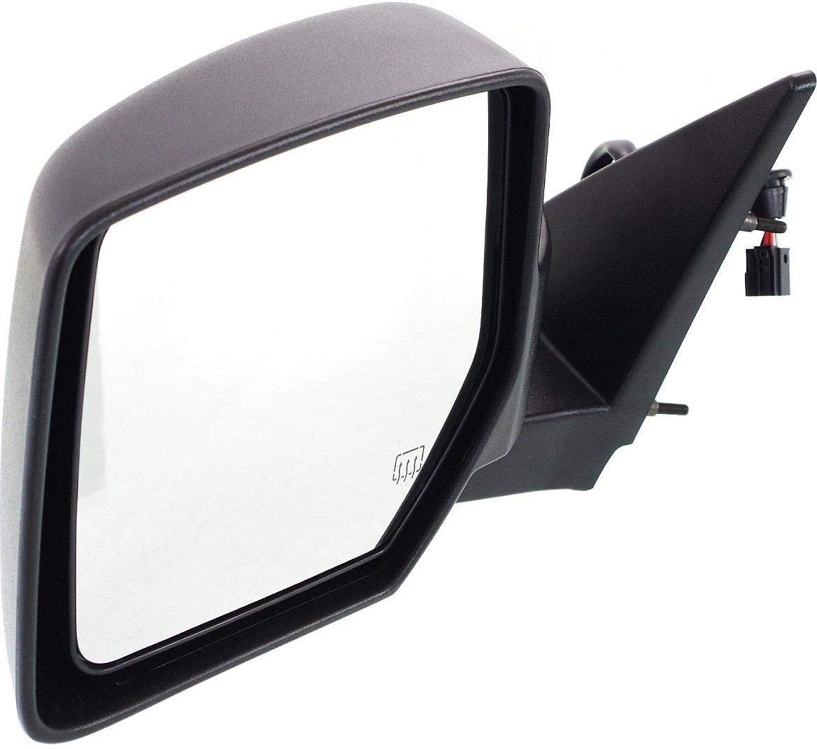 NEW LEFT POWER MIRROR WITH HEATED GLASS FITS 2007-2011 DODGE NITRO CH1320278